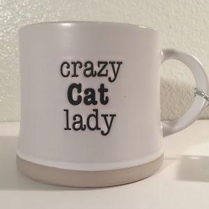 NWT Crazy Cat Lady over sized coffee mug